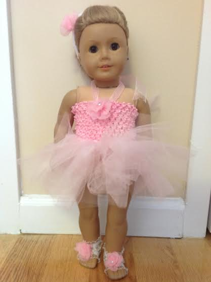 Handmade American Girl Doll Ballet Outfit
